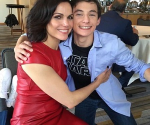 lana parrilla, once upon a time, and jared gilmore image