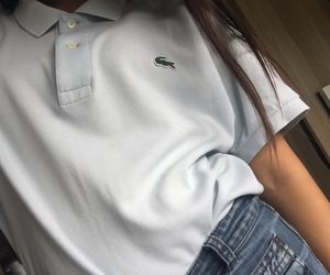 lacoste, outfit, and style image