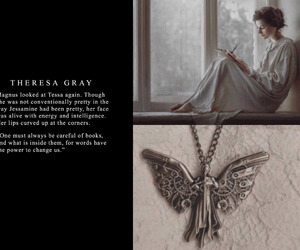 clockwork angel, theresa gray, and the infernal devices image