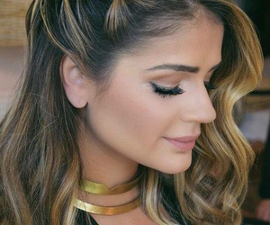 hairstyle, make-up, and style image