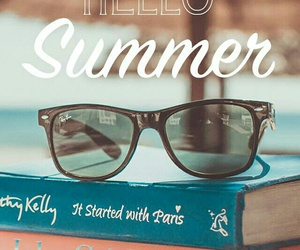 books and summer image