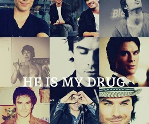 ian somerhalder, drugs, and Hot image