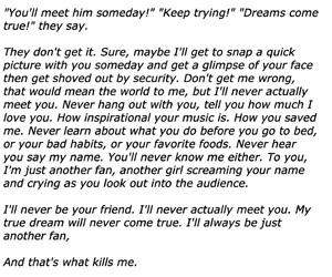 quote, sad, and fangirl image