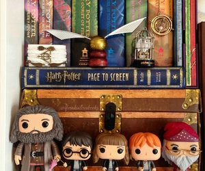 harry potter, book, and hagrid image