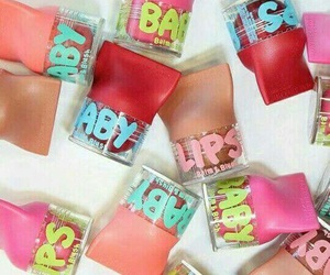 baby lips, beauty, and fashion image