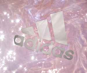 adidas, pink, and water image