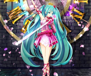 anime, vocaloid, and romeoandcinderella image