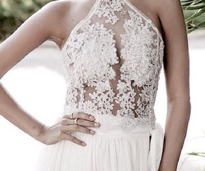 body, lace, and dress image