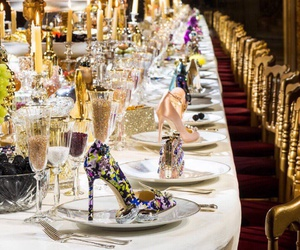 shoes, dinner, and fashion image