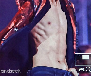 exo, baekhyun, and abs image