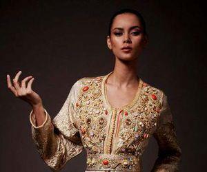 fashion, caftan, and oriental image