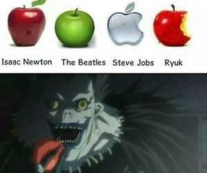 apple, ryuk, and anime image