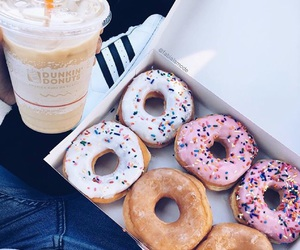 donuts, coffee, and doughnuts image