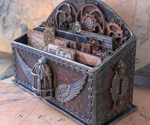 steampunk and vintage image