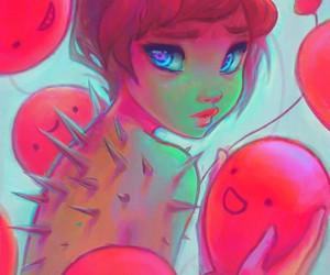 art, girl, and destinyblue image