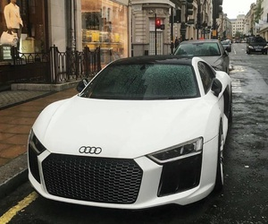 car, audi, and r8 image