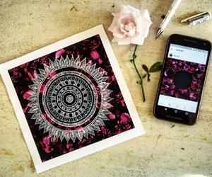 art, mandala, and zendala image