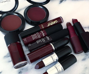 mac, makeup, and lipstick image