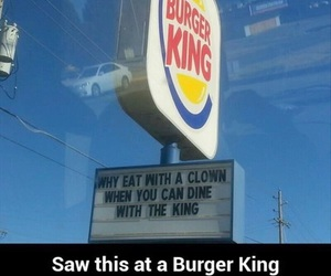 clown, funny, and king image