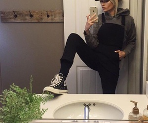 style, outfit, and converse image