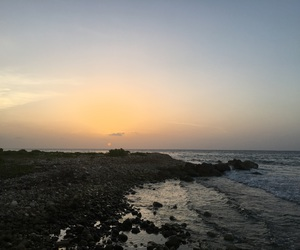 jamaica, photography, and sunset image