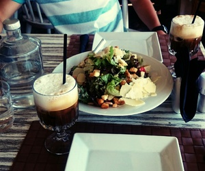 coffee, food, and summer image