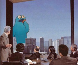 movie, classic, and cookie monster image