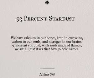 people, stardust, and text image