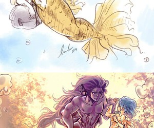 levy, gale, and gajeel image