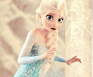 frozen and lareinedesneiges image