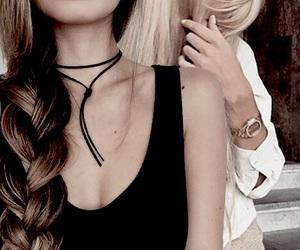 fashion, girls, and hair image