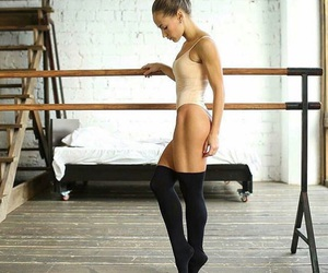 ballet, girl, and fitness image