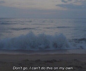 grunge, sad, and ocean image
