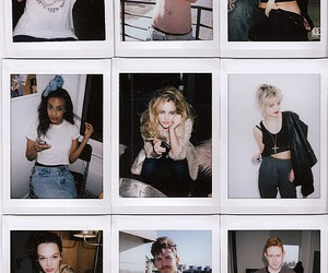 models, riley keough, and celebrities polaroid image