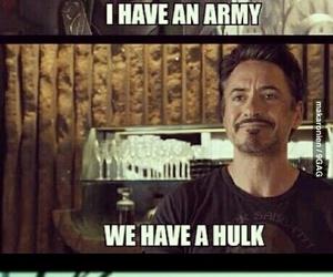 loki, funny, and iron man image