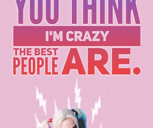 harley quinn, quotes, and margot robbie image