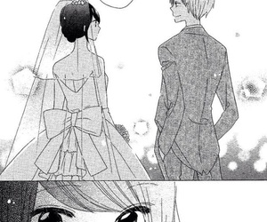 manga girl, monochrome, and romance manga image