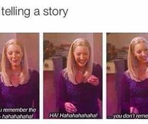 funny, friends, and story image