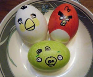 eggs and angry birds image