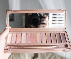 makeup, naked, and palette image