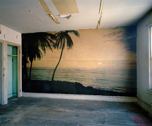 room, wall, and beach image