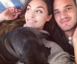 pewdiepie, couple, and Edgar image