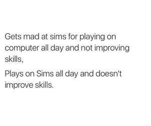computer, life, and lol image
