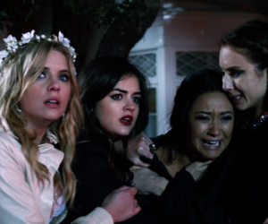 emily, lucy hale, and pretty little liars image