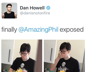 amazingphil, dan howell, and dan and phil image