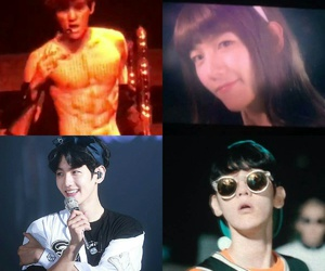 exo, kpop, and six pack image