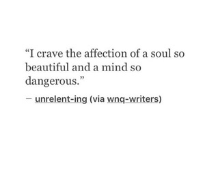 crave, quote, and soul image