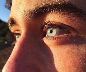 nash grier, eyes, and boy image