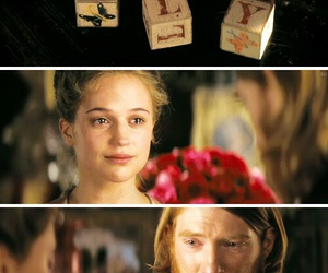 anna karenina, alicia vikander, and love image
