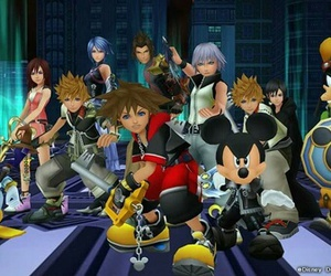 kingdom hearts, disney, and aqua image
